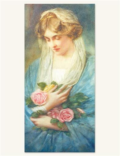 THE ROSE GATHERER PRINT