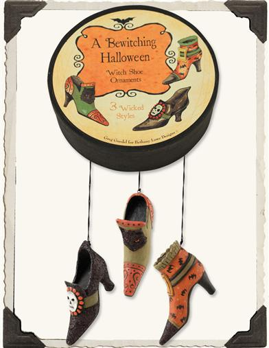 BLACK SOLES WITCH FOOTWEAR (SET OF 3)