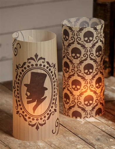 GOTHIC SILHOUETTE LUMINARIES (SET OF 6)