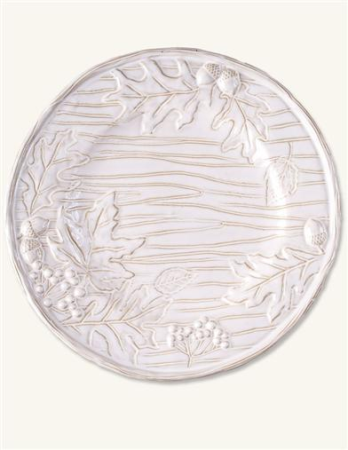 MOONLIT MAPLE LEAVES PLATE