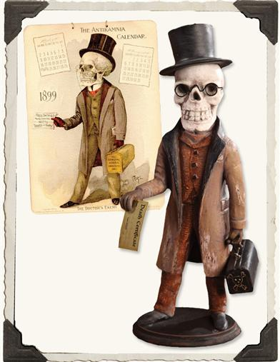 CALENDAR SKELETON DR. DEATH
