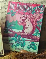 THE SQUIRREL RAG TIN BOX