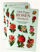 OLD-TIME ROSES STICKER BOOKS (SET OF 3)