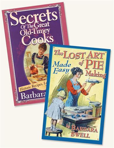 NOSTALGIC COOKBOOKS (SET OF 2)