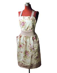 Cabbage Roses Apron