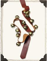 CURRIER & IVES SLEIGH BELL STRAP