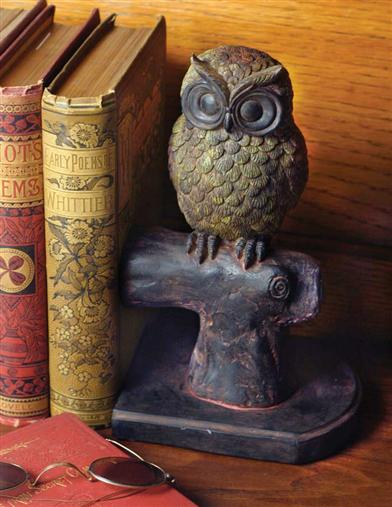 HOOTIE & HATTIE OWL BOOKENDS