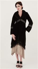 EBONY COAT DRESS