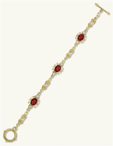 DOWNTON ABBEY CRIMSON BRACELET