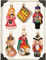 NUTCRACKER FANTASY ORNAMENTS
