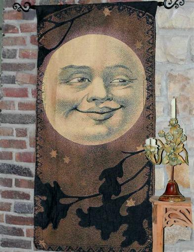 CONTENTED MOON TAPESTRY