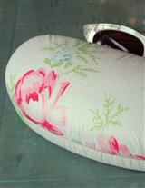 COTTON CHINTZ EYEGLASS CASE