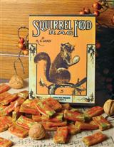 SQUIRREL FOOD RAG TIN WITH SQUIRREL NUT ZIPPERS