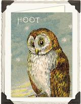 HOOT OWL NOTECARDS IN KEEPSAKE TIN