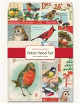 CHRISTMAS BIRDS PETITE PARCEL SET