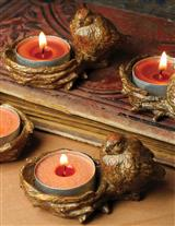 BIRDIE'S BONFIRE TEALIGHT HOLDER
