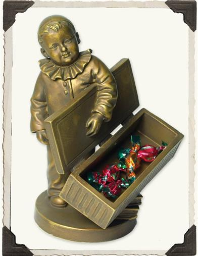 LITTLE HARLEQUIN CARD CADDY