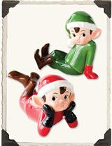 ELF FIGURINES (PAIR)