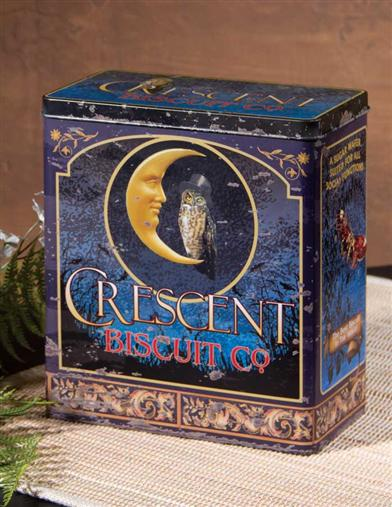 CRESCENT BISCUIT CO. TIN