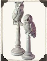 POPEYE & GOOGLY OWL FINIALS (SET OF 2)