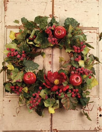 Sangria Wreath