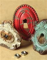 KEYHOLE KNOBS (SET OF 4)
