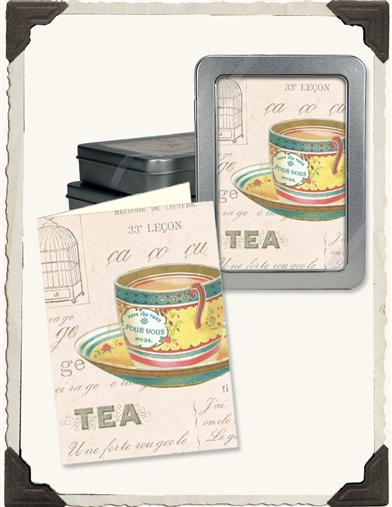 TEA NOTECARDS