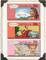 Anne Taintor Chocolate Bars (Set Of 3)