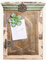 LOVELY SALVAGE MAGNET BOARD