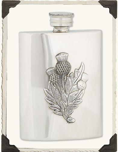 SCOTTISH THISTLE FLASK