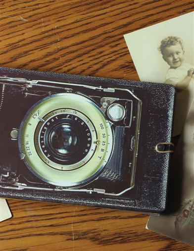 RETRO CAMERA PHOTO ALBUM BRAG BOOK