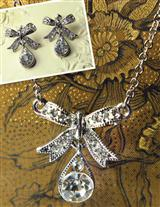 BELLISSIMO BOW NECKLACE & EARRINGS
