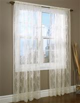 Gardenesque Lace Curtains
