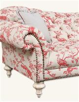 CHERRY TOILE PLUMP SOFA
