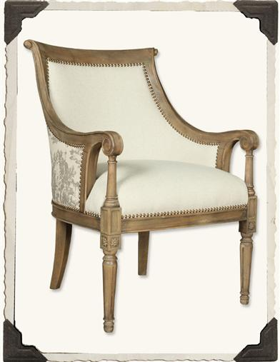 TOILE BACK CHAIR