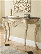 JESSICA MCCLINTOCK CABRIOLE CONSOLE TABLE