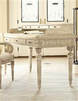 JESSICA MCCLINTOCK WHITE VEIL WRITING DESK