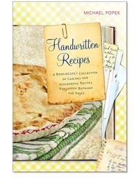 HANDWRITTEN RECIPES BOOK