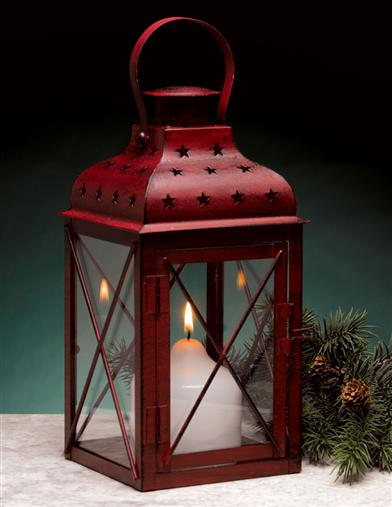 LI'L RED RAILROAD LANTERN