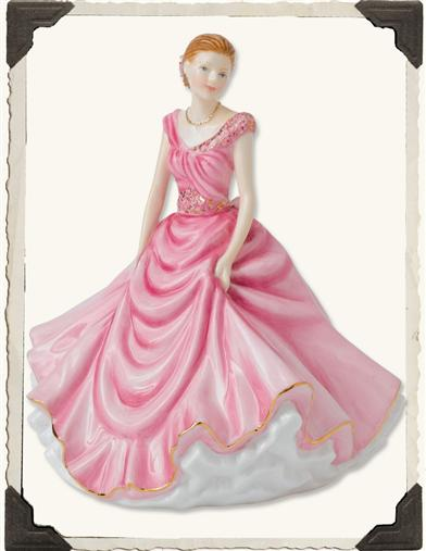 ROYAL DOULTON DONNA PETITE PRETTY LADY