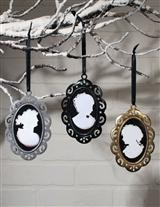THREE SISTERS CAMEO ORNAMENTS (SET OF 3)