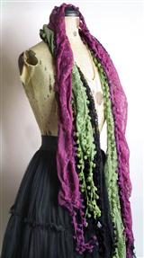 POM-POM GYPSY SCARVES (SET OF 3)