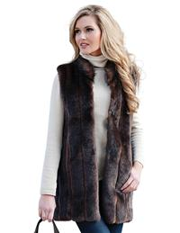 Faux Fur Sable Vest