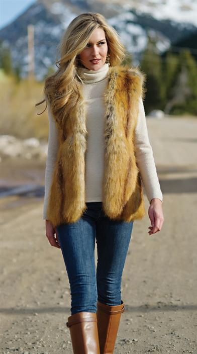 GOLDEN FOX VEST