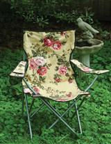 GLAMPING CHINTZ LAWN CHAIR - SPECIAL PRICE!