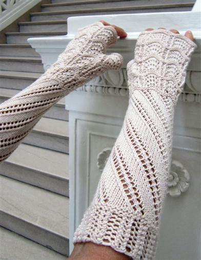 Terzetto Knit Fingerless Gloves