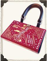 A CHRISTMAS CAROL BOOK PURSE