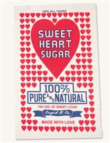 SWEET HEART SUGAR TOWEL