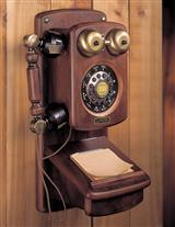 WOODEN WALL TELEPHONE