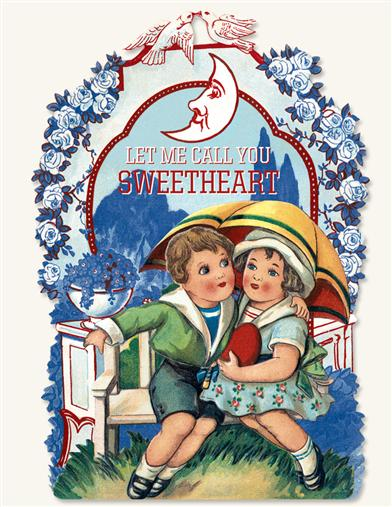 LET ME CALL YOU SWEETHEART- A VALENTINE BOOKLET